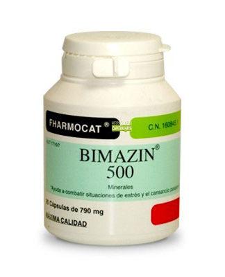 Bimazin Fharmocat es un complemento alimenticio que proporciona los dos minerales esenciales que son: el magnesio y el zinc, en las formas de sulfatos que ayudan a combatir situaciones de estrés y el cansancio pasajero.