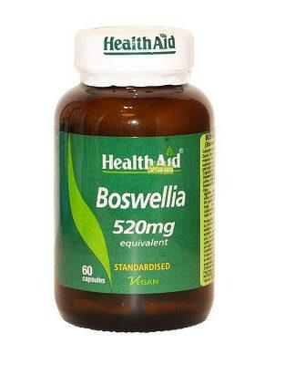 Boswellia Health Aid es un complemento alimenticio a base de Boswellia y Kelp.