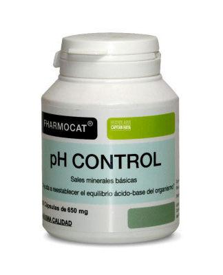 Ph Control es un complemento alimenticio a base de minerales que ayuda a reestablecer el equilibrio ácido-base del organismo.
