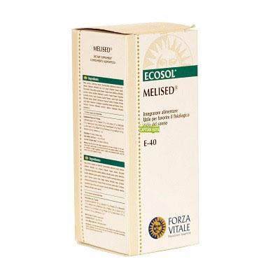 MELISED Forza Vitale Melised de Forza Vitale es un complemento alimenticio a base de valeriana, meliloto y pasiflora que promueve la fisiológia de la relajación.