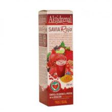 Aktidrenal Savia Roja Tongil es un complemento alimentico que ayuda a regenerar las células sanas. Tiene efecto antioxidante.