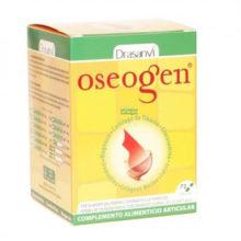 Oseogen Drasanvi es un complemento alimenticio a base de Cartílago de tiburón, magnesio,Glucosamina,Condrotina,Colágeno Marino y cálcio.