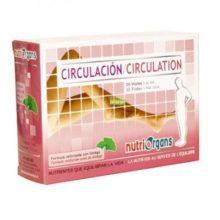 Nutriorgans Circulacion 20 viales Tongil es un complemento alimenticio a base de extractos de plantas y vitamina C.
