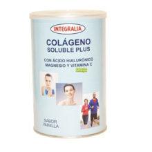 Colageno Integralia es un complemento alimenticio a base de ácido hialurónico, magnesio y vitamina C.