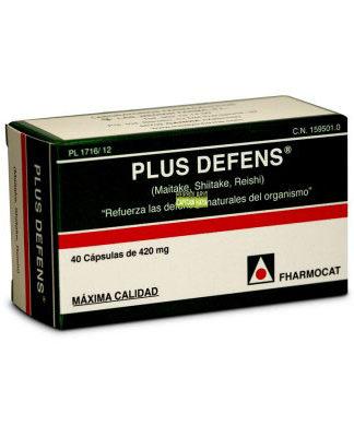 Plus Defens combina Maitake, Shiitake y Reishi que constituyen la base de la especialidad de micología.