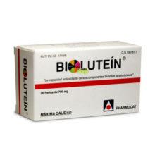 Bilutein Fharmocat es un complemento alimenticio a base de Luteína que combina una composición de nutrientes de alta calidad con capacidad antioxidante de sus componentes favorece la salud ocular.