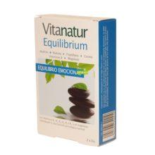 Vitanatur equilibrio es un complemento alimenticio formulado a base de ingredientes especialmente seleccionados para para ayudar a mantener el equilibrio emocional.