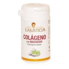Colágeno con Magnesio Ana María Lajusticia es un complemento alimenticio a base de colágeno hidrolizado y magnesio.