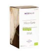 Melena de Leon MICO-LEO Hifas da Terra es un complemento alimenticio a base de estracto de Melena de Leon que ctua como regenerador del tejido nervioso y del epitelio gástrico e intestinal.