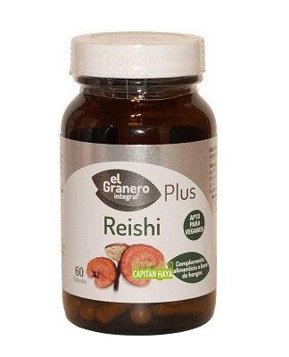 Reishi Forte El Granero Integral es un complemento alimenticio a base de Reishi Micello y extracto seco de Reishi.