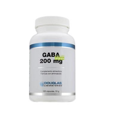 Gaba Douglas es un complemento alimenticio a base de ácido gamma-aminobutírico como fórmula de aminoácidos.