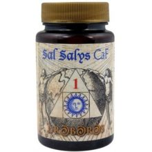 SAL SALYS 01 CAF es un complemento alimenticio cuyo componente principal es el fluoruro de calcio;una de las llamadas Sales de Schüssler.