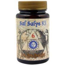 Sal Salys 06 KS Jellybell es una Sal de Schussler cuyo componente principal es el sulfato potásico importante para eliminar las toxinas del organismo.