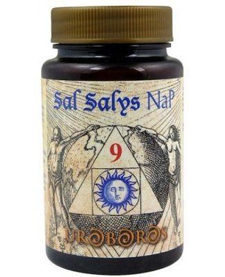 Sal Salys 09 NaP es un complemento alimenticio cuyo componente principal es el fosfato sódico;una de las llamadas Sales de Schüssler.
