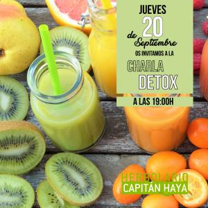 CHARLA DETOX  | 20-09-18 | 19:00