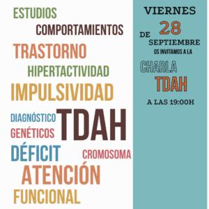CHARLA TDAH  | 28-09-18 | 19:00