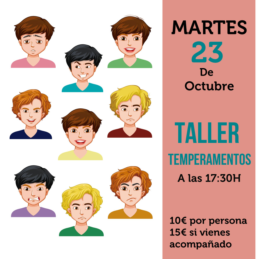 Taller temperamentos Madrid