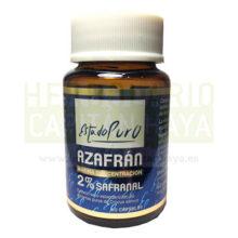 AZAFRAN ESTADO PURO TONGILes un complemento alimenticio 2% Safranal, con extracto seco estandarizado de estigmas puros de Crocus sativus.
