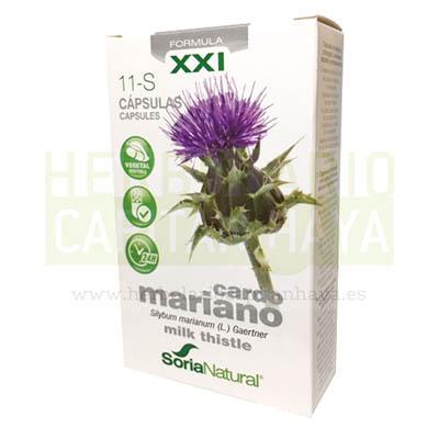 CARDO MARIANO CAPSULAS SORIA NATURALes un complemento nutricional que ayuda en el mantenimiento hepático.