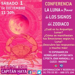 LA LUNA A TRAVÉS DE LOS SIGNOS DEL ZODIACO | 01-12-18 | 11: 30
