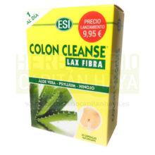 COLON CLEANSE LAX FIBRAes un complemento alimenticio a base de una mezcla de plantas pulverizadas y fibra de psyllium.