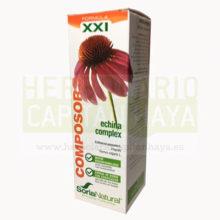 COMPOSOR 08 ECHINA COMPLEXes un complemento alimenticio quecontiene extractos de equinacea, de tomillo y de propoleo para aumentarnos las defensas y hacer frente a gripes y resfriados.