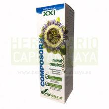 COMPOSOR 28 NERVAL COMPLEXes un complemento alimenticio que ayuda a mejorar el estado de ánimo y reducir los síntomas de ansiedad.