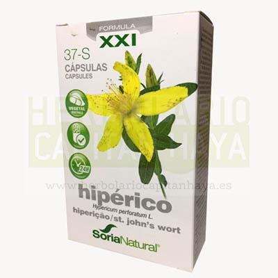 HIPERICO CAPSULAS SORIA NATURALes un complemento alimenticio útil para el tratamiento de la depresión leve o moderada.