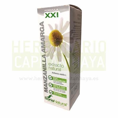 MANZANILLA AMARGAes un complemento alimenticio al que se atribuye propiedades antiespasmódicas, carminativas para favorecer la eliminación de gases, antiinflamatoria y es un sedante nervioso.