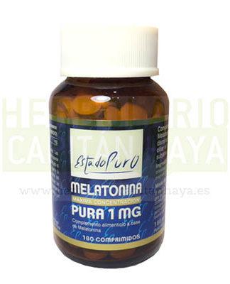 MELATONINA PURA 1MG ESTADO PURO TONGILes un complemento alimenticio a base Melatonina. La Melatonina contribuye a disminuir el tiempo necesario para conciliar el sueño y a aliviar la sensación subjetiva del desfase horario (jet-lag).