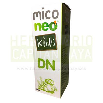 MICO NEO KIDS DNes un complemento alimenticio a base de hongos, plantas y vitaminas.