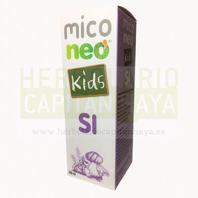 MICO NEO KIDS SIes un complemento alimenticio a base de hongos, plantas y vitaminas.