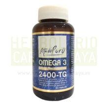 OMEGA 3 ESTADO PURO TONGILes un complemento alimenticio a base de aceite de pescado concentrado con alto contenido de ácidos grasos Omega 3 (EPA y DHA) en forma de triglicéridos.