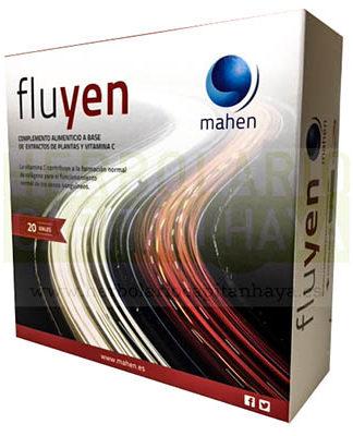 FLUYEN MAHENes un complemento alimenticio a base de extractos de plantas y Vitamina C.
