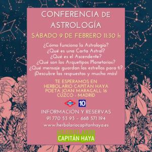 CONFERENCIA DE ASTROLOGÍA | 09/02/19 | 11:30