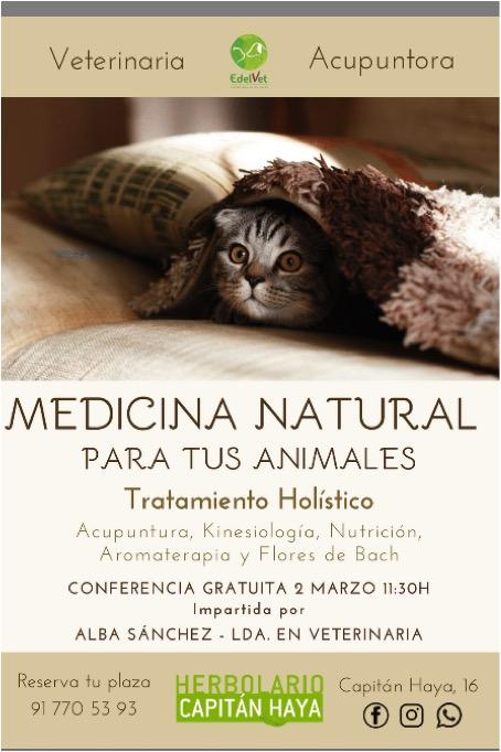 MEDICINA NATURAL ANIMALES