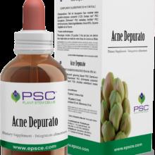 PSC ACNE DEPURATO FORZA VITALE PSC Acne depurato Forza Vitale es un complemento alimenticio de yemoderivados de Grosellero negro, Olmo, Nogal y Plátano.