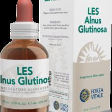 LES ALNUS GLUTINOSA FORZA VITALE LES Alnus glutinosa Forza Vitale es un complemento alimenticio de yemoderivados de Ontano negro que favorece el bienestar de las mucosas.