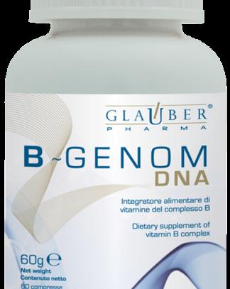 B-Genom Glauber Pharma es un complemento alimenticio de Vitaminas del complejo BB-Genom Glauber Pharma es un complemento alimenticio de Vitaminas del complejo B