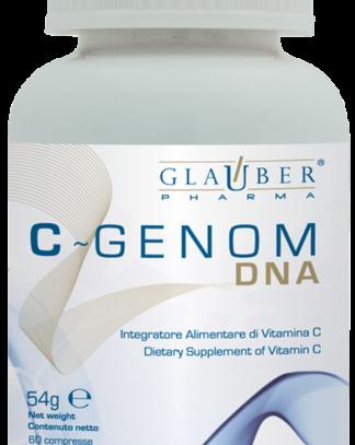 C-Genom Glauber Pharma es un complemento alimenticio de Vitamina C que ayuda a proteger del estrés oxidativo.