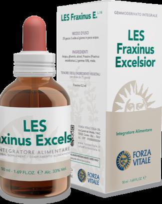 LES FRAXINUS EXCELSIOR FORZA VITALE LES Fraxinus excelsior Forza Vitale es un complemento alimenticio de yemoderivados de Fresno que favorece el fisiológico bienestar de las vías urinarias.