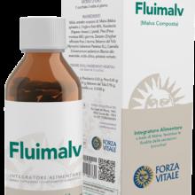 Fluimalv Forza Vitale es un complemento alimenticio a base de Malva que favorece la fluidez de las secreciones bronquiales.