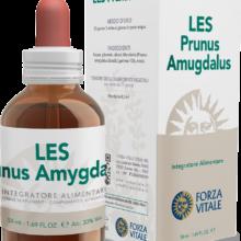LES PRUNUS AMYGDALUS FORZA VITALE LES Prunus amygdalus Forza Vitale es un complemento alimenticio de yemoderivados de Almendro que favorece el metabolismo lipídico contrastando la acumulación de grasas.