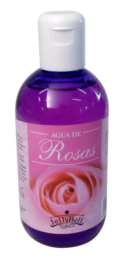 Agua de rosas Jellybell es un excelente tónico facial para todo tipo de pieles. Se utiliza como desmaquillante.
