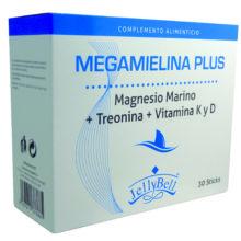 Megamielina Plus Jellybell es un complemento alimenticio recomendado para el desgaste de huesos, articulaciones y casos de osteoporosis.Megamielina Plus Jellybell es un complemento alimenticio recomendado para el desgaste de huesos, articulaciones y casos de osteoporosis.