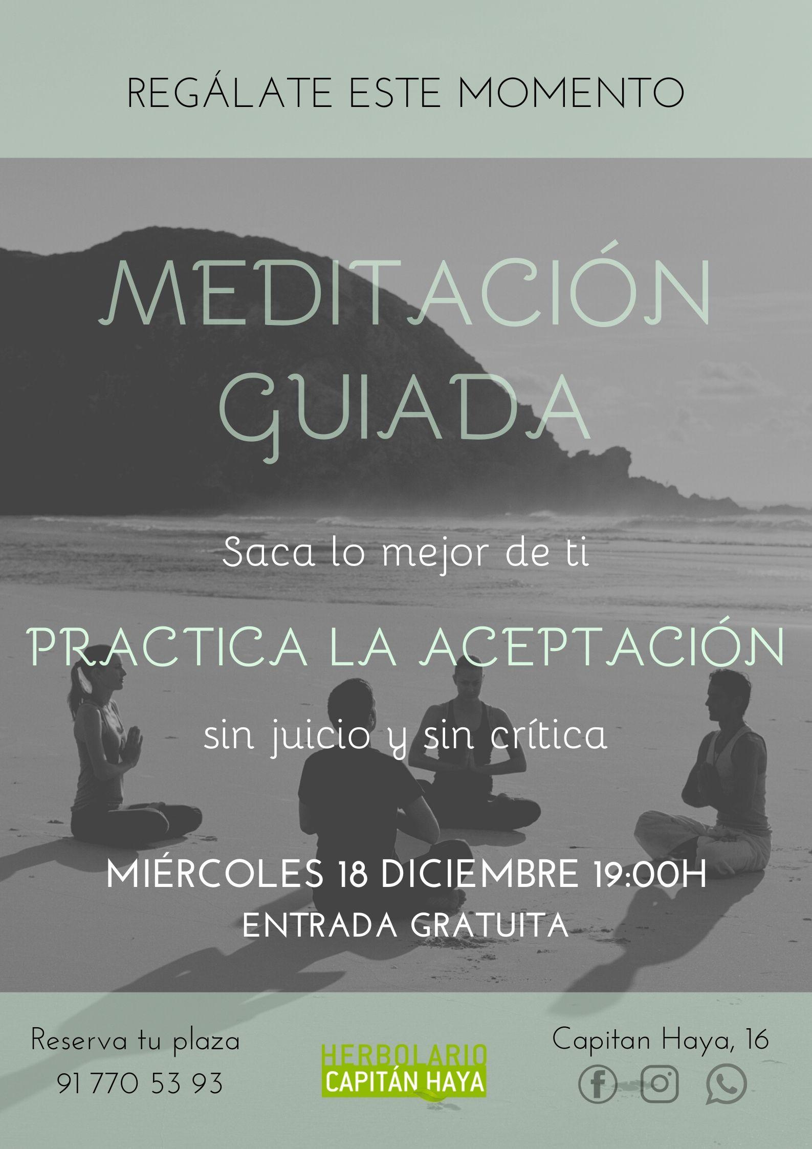 MEDITACION GUIADA GRATUITA ACEPTACIÓN