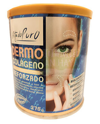 Dermocolageno re forzado Estado Puro Tongil es un complemento alimenticio que contribuye al mantenimiento de la piel en condiciones normales.