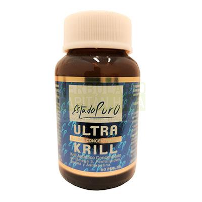 Ultra Krill Estado Puro Tongil es un complemento alimenticio que contribuye al buen funcionamiento del corazón.