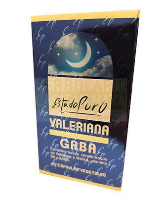 Valeriana Gaba Estado Puro Tongil es un complemento alimenticio cuya fórmula sinérgica a base de extractos secos concentrados de valeriana, melisa, vitaminas B6 y GABA. Ayuda a conciliar y mantener un sueño de calidad.