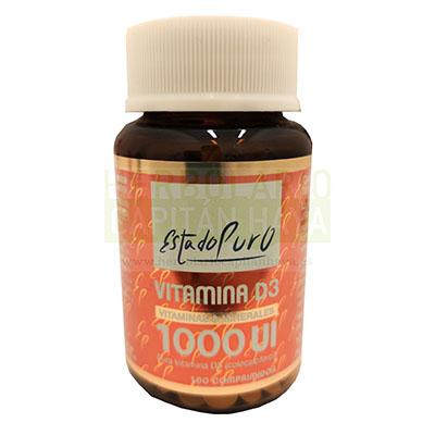 Vitamina D3 1000UI Estado Puro Tongil es un complemento alimenticio que ayuda a garantizar el mantenimiento correcto de los huesos y músculos.